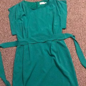Beautiful green Eliza J dress with pockets!
